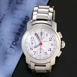 Baume & Mercier Capeland Square Button Chronograph Mans Wrist Watch with Warrant