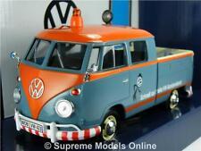 VOLKSWAGEN T1 PICK UP VAN MODEL 1:24 SIZE SPLIT SCR VW SERVICE MOTORMAX TYPE 2 T