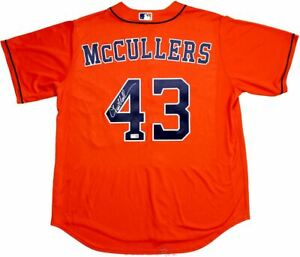 Lance McCullers Jr. Signed Houston Astros Orange Majestic Replica Jersey TRISTAR
