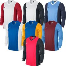 NIKE PARK DERBY FOOTBALL TOP JERSEY LONG SLEEVE  BLUE / GOLD MENS X LARGE 3490