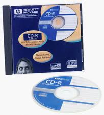 Hewlett Packard CD-R Recordable Rewriteable 650 MB 74 min Data New