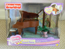 FISHER PRICE LOVING FAMILY DOLLHOUSE GRAND PIANO BRAND NEW IN BOX Townhouse NIB