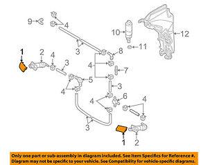 AUDI OEM 09-11 A6 Quattro Washer-Headlight Head Light-Cap Left 4F0955275CGRU
