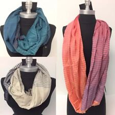 Wholesale Lot of 11 Mens Infinity Scarf Wrap Striped Circle Scarves HIGH QUALITY