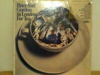 PETER  AND  GORDON        LP     IN  LONDON  FOR  TEA