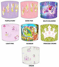 Lampshades Ideal To Match Fairy & Princess Duvets & Wall Decal