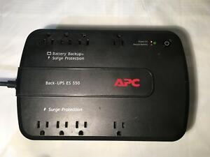 APC BACK-UPS  ES550 BE550G. BATTERY BACKUP, SURGE PROTECTION