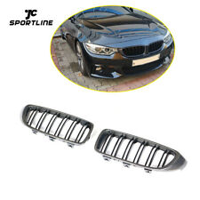 Kidney Grille Front Grill For BMW F32 F33 F36 F80 F82 F83 13-18 Carbon Fiber