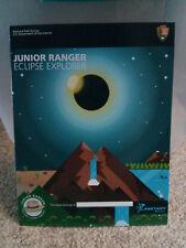 RARE! National Park Service Junior Ranger Badge - Eclipse Explorer (1 Book)