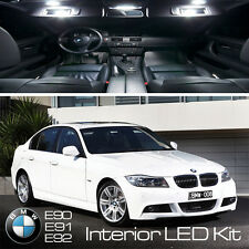 BMW serie 3 Completo 14/pc LED Blanco Puro libre de error de actualización Kit de Luz Interior