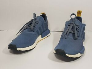 Adidas Nomad BOOST Running Shoes Tech Ink Blue S31514 Sz 10 1/2