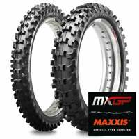 Maxxis 85 CC Small Wheel Motocross MX Tyres Pair 70/100-17 90/100-14