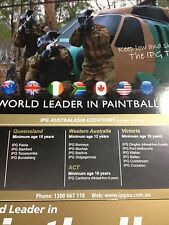 selling IPG paintball tickets in Australia