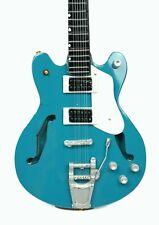 Miniatur Gitarre Mini Guitar Dekogitarre 26cm handgearbeitet Holz airbrush