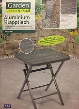 Aluminium Klapptisch  Gartentisch  Campingtisch  Balkontisch Tisch