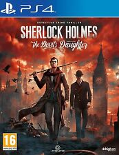 SHERLOCK HOLMES The Devil's Daughter SONY PS4_NEUF S/CELLO_JEU FRANCAIS VERS EU
