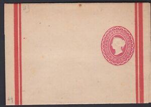 c.1890's TAS Tasmania 1d ONE PENNY QV Postal Stationery Wrapper Mint Condition