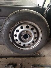 Firestone Fuel Saver 155/80 R13 79T Tyres On Mk5 Escort Wheel Rim - Never Used.