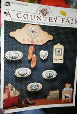 COUNTRY FAIR COUNTED CROSS STITCH PATTERN BY BANAR DESIGNS