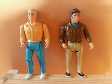 A Team Action Figures Murdoch & Hannibal 1983 by Cannell / Galoob - Vintage
