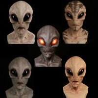 Cosplay Scary Horrible Horror Alien mask Magic Man Mask Halloween Masquerade