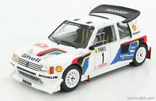 1/18 IXO Models - 1986 PEUGEOT 205 T16 EVO2 #1 - MONTE CARLO RALLY - 2ND PLACE