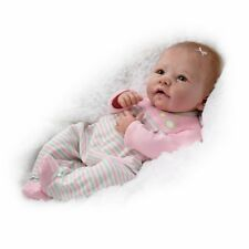 Ashton Drake Elizabeth Weighted and Poseable Baby Girl Doll By Linda Murray