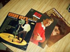 3 Vinyl LPS - BOBBY VEE's Golden Greats / DION Ruby Baby / PJ PROBY Somewhere