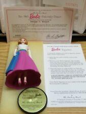 Danbury Mint Vintage Barbie Figurine The 1965 Barbie Fraternity Dance W/ Coa