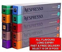 New Low price original Nestle Nespresso Capsules Pods All Flavours long expiry