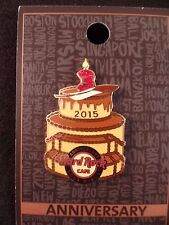 Hard Rock Cafe FOUR WINDS 2015 3rd Anniversary PIN on Card LE200 CAKE HRC #85418