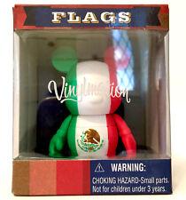 "DISNEY VINYLMATION 3"" FLAGS MEXICO CITY CANCUN ACAPULCO WORLD CUP TOY NIB FLAG"