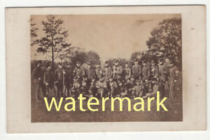 Herefordshire Rifle Volunteers at Leominster, CDV