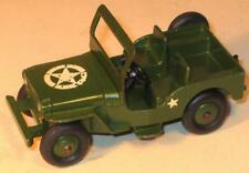 DINKY TOYS No 669 USA ARMY JEEP. US EXPORT ISSUE.UNBOXED