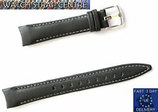 TIMEX Watch Strap Band for T2M433 Retrograde  Black Genuine Leather  Original