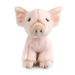 LIL FRIENDS PIG PLUSH SOFT TOY 18CM STUFFED ANIMAL BY KORIMCO