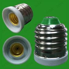 Edison Screw E27 ES To CES E12 Candelabra Light Bulb Adaptor Converter Holder