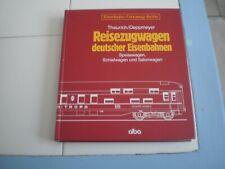 Reisezugwagen deutscher Eisenbahnen Eisenbahn-Fahrzeug-Archiv collection Alba 6-
