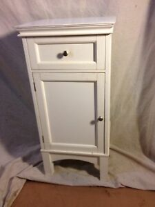 Side Stand With Drawer & Cabinet. Not Antique Virginia Local pickup MAKE OFFER.