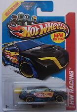 2013 Hot Wheels Hw Racing Loop Coupe 109/250 (Blue Version)