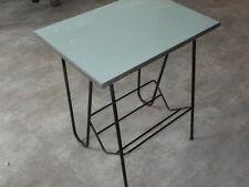 Table formica porte revue livre design métal scandinave vintage MODERNISTE