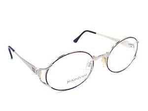 Yves Saint Laurent NEW Vintage 4073 Y281 Red Eyeglasses Frames 53-19 130 Italy