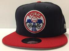 Minnesota Twins New Era 9FIFTY MLB Snapback Hat Cooperstown Minnie & Paul Cap