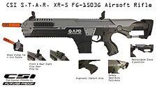 CSI Airsoft S.T.A.R. XR-5 FG-1503G Grey Advanced Battle Rifle AEG Space M4 STAR