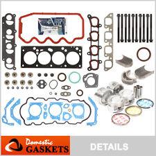 00-04 Ford Focus 2.0L SOHC Full Gaskets+Head Bolt Pistons Bearing&Ring Set VIN P
