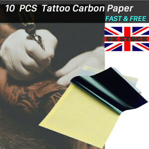 10 X A4 TATTOO TRANSFER / THERMAL / CARBON / STENCIL PAPER Hectograph UK