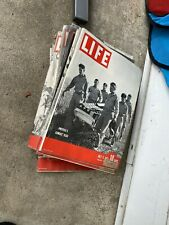 Vintage Life Magazine— Lot Of 5—1943— WWII Ads