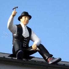 DACHDECKER ZIMMERMANN STEFAN Deko Figur lebensgroße WERBEFIGUR GFK Skulptur