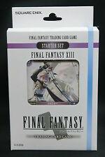 Final Fantasy Card Game Starter Set Final Fantasy XIII 50 Cards Japanese
