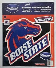 BOISE STATE BRONCOS LOGO FATHEAD TEAMMATES REMOVABLE STICKER NCAA FOOTBALL NEW